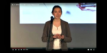 Rebecca Lee's 3MT Speech Finals
